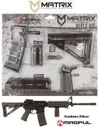 MDI MAGCOM08CF Magpul ComSpec AR-15 Furniture Kit Carbon Fiber
