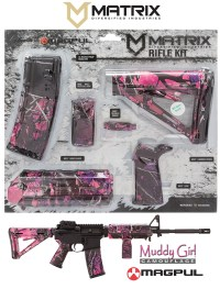 MDI MAGMIL03MG Magpul MilSpec AR-15 Furniture Kit Muddy Girl