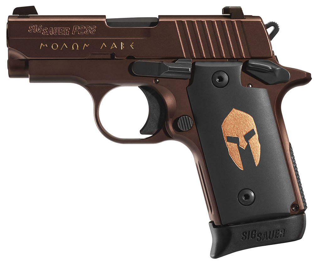 medium resolution of sig sauer 238380sparta p238 spartan single 380 automatic colt pistol acp 2 7