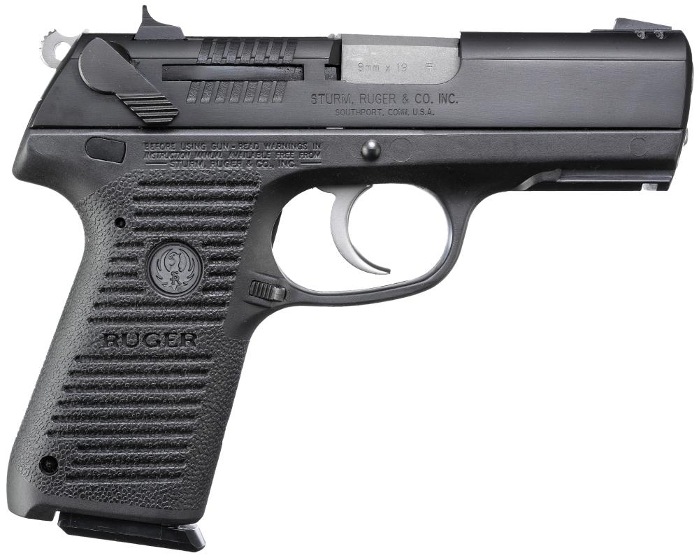 Ruger P95 9mm Black W Rail 15 Round 310 00