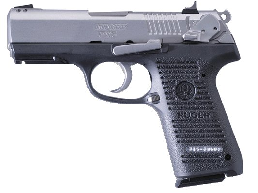 Ruger P95 9mm Stainless W Rail 15 Round