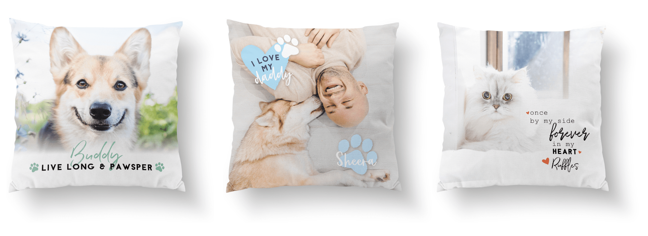 custom photo pillows personalized gift