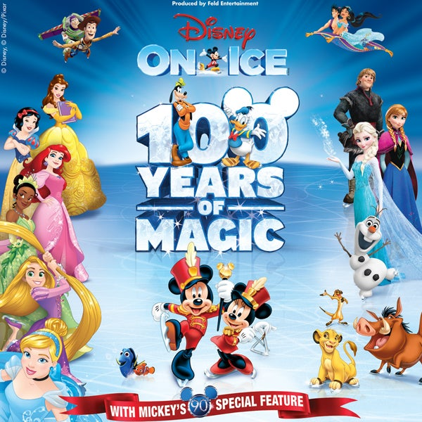 disney on ice celebrates