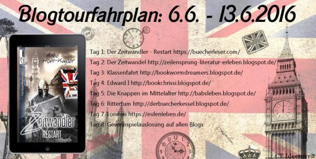 Blogtour Der Zeitwandler Anke Höhl Kayser