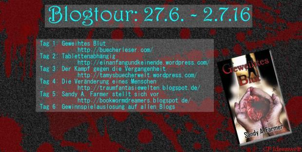 Banner Blogtour Geweihtes Blut