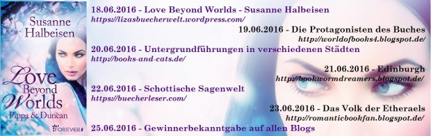 Themenbanner Blogtour Love Beyond Worlds