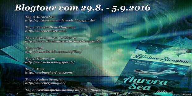 Blogtour Aurora Sea Banner