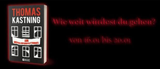 Banner Im Maulwurfstunnel