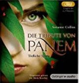 """Das Cover von dem Hörbuch von """"Die Tribute von Panem"""""""