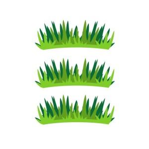 Bügelbilder SET Gräser