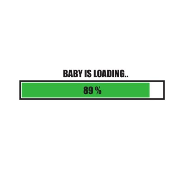 Bügelbild Baby is loading