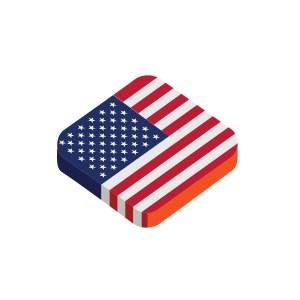 Bügelbild USA