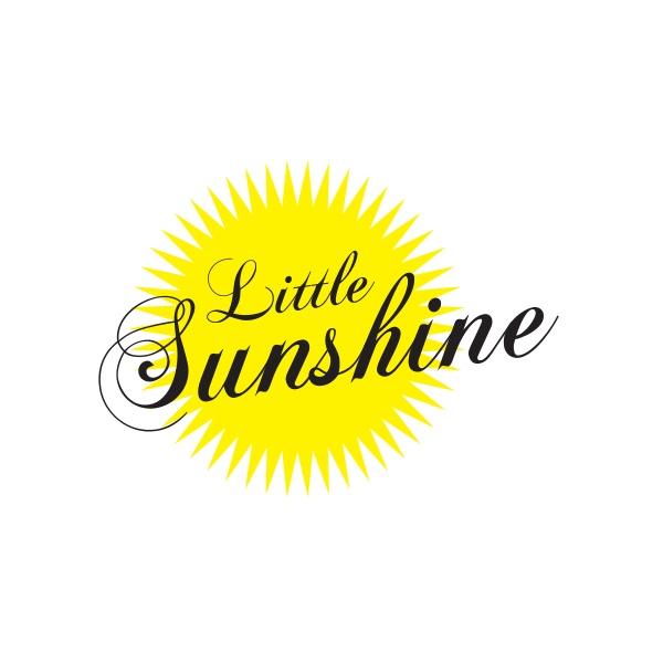 Bügelbild Little Sunshine