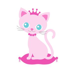 Bügelbild Sweet Cat