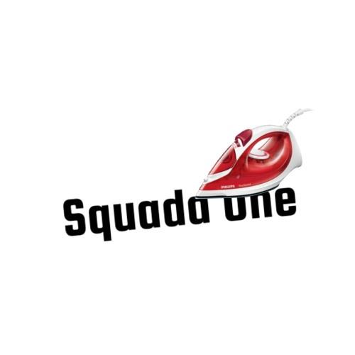 """Wunschtext """"Squada One"""" als Bügelschrift"""