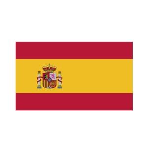 Bügelbild Spanien Flagge