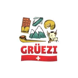 Bügelbilder SET Switzerland