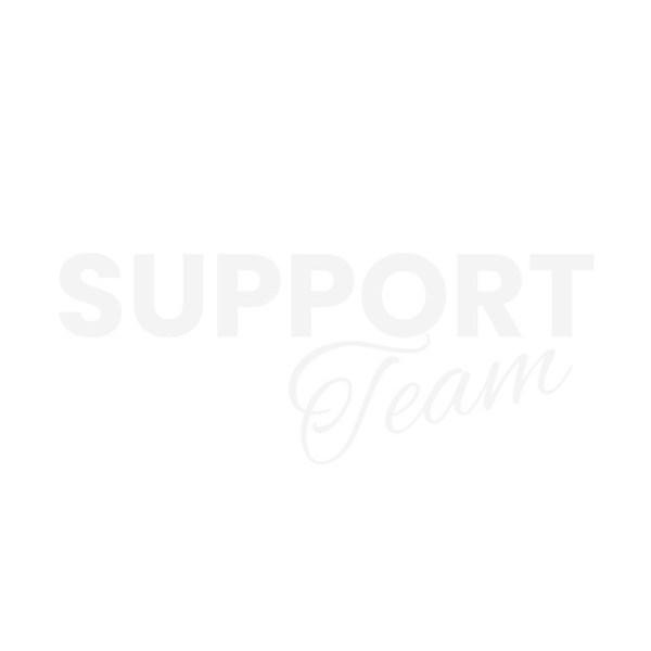 Bügelbild SUPPORT Team (weiss)