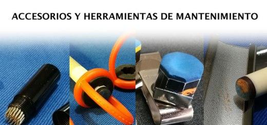 Accesorios y herramientas de mantenimiento para tacos de billar