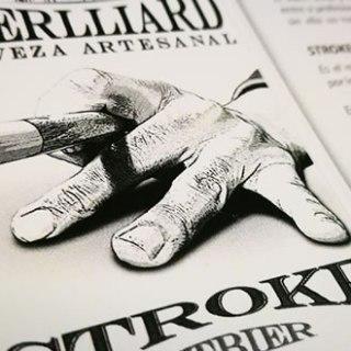 cerveza artesanal beerlliard stroke
