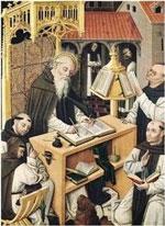 Los monjes conservaron los libros