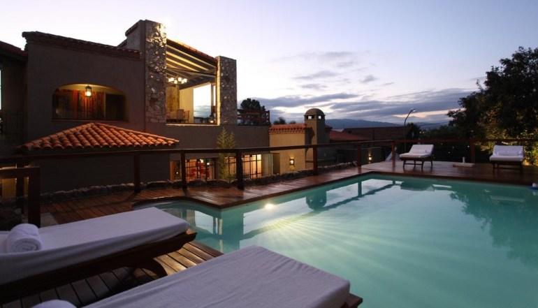 Piscina do Kkkala Boutique Hotel, um dos melhores hotéis de Salta