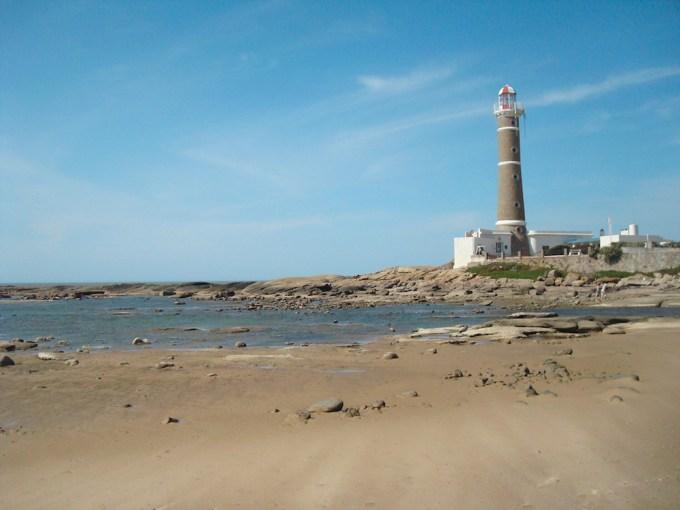 Farol na praia de Jose Ignacio | Foto de Jota Galeano