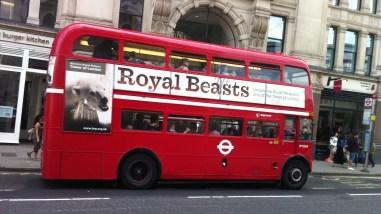 Ônibus londrino de dois andares
