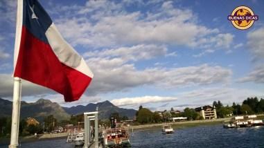bandeira chile lago pucon