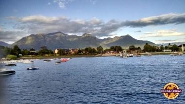 barcos lago pucon chile