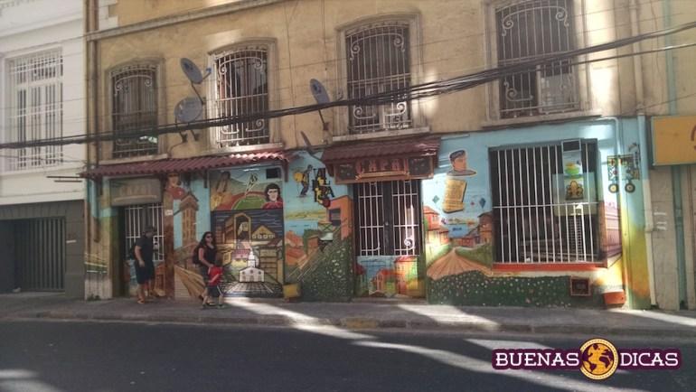 grafite centro valpo chile