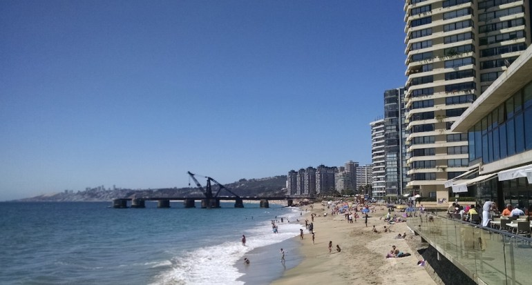 praias hoteis vina del mar