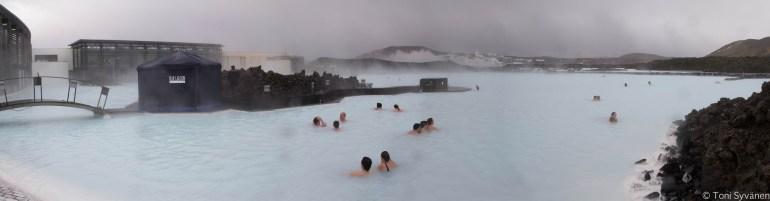 lagoa azul quente islandia