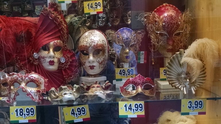 mascaras de veneza preços