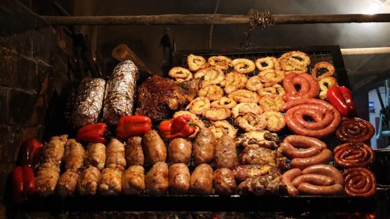 comidas tipicas uruguai asado churrasco parrilla