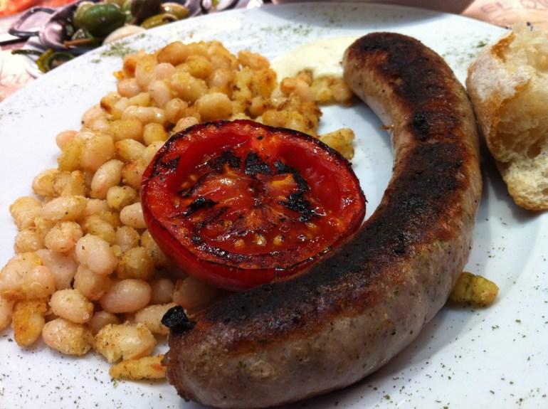 comidas tipicas barcelona butifarra