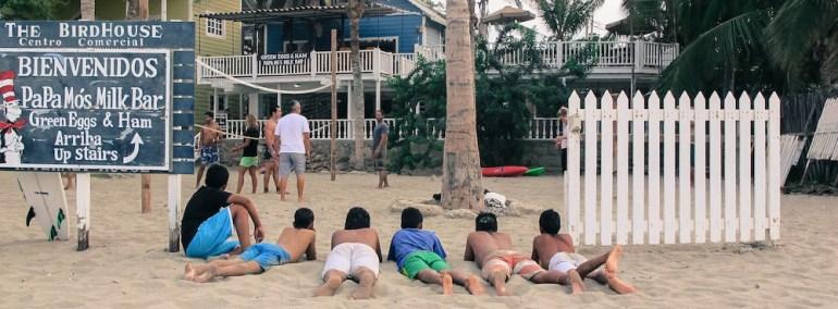 praia mancora peru