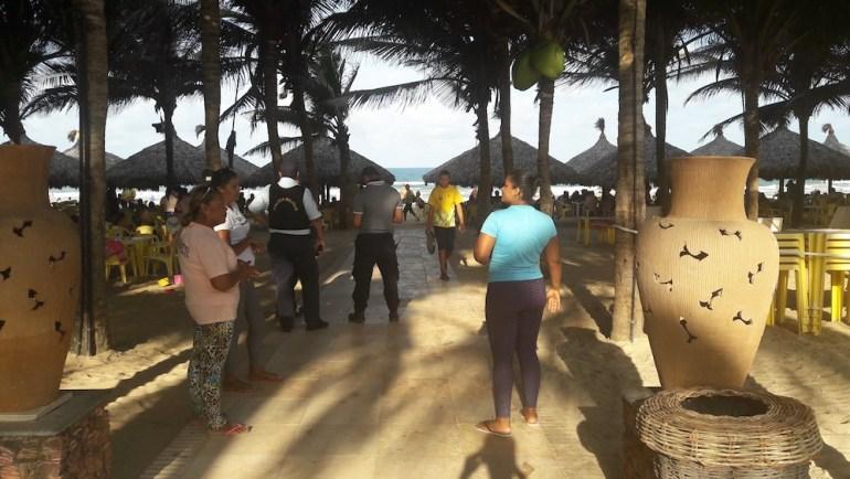 policia crocobeach praia do futuro fortaleza