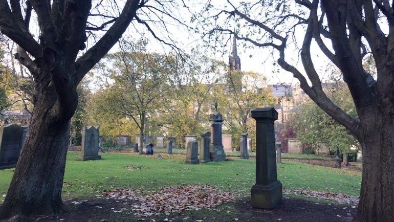 Greyfriars Kirkyard edimburgo uk