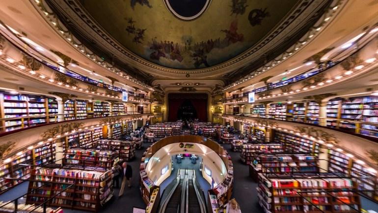 livraria El Ateneo Grand Splendid buenos aires
