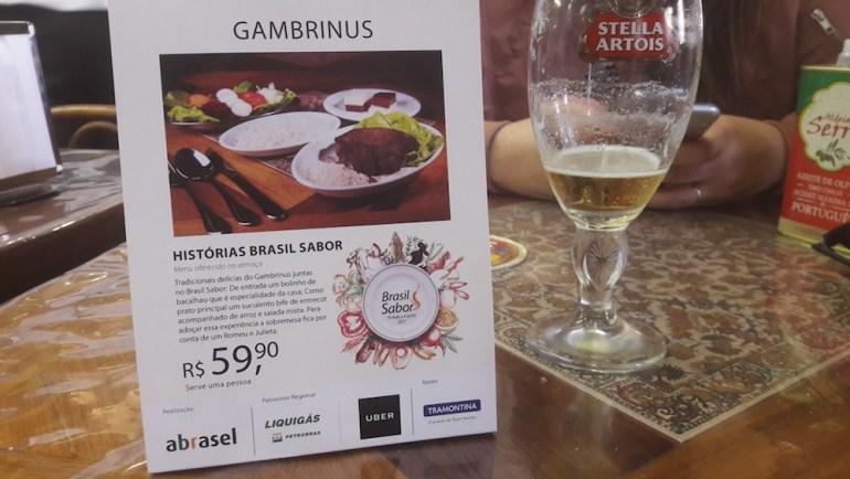 menu gambrinus porto alegre
