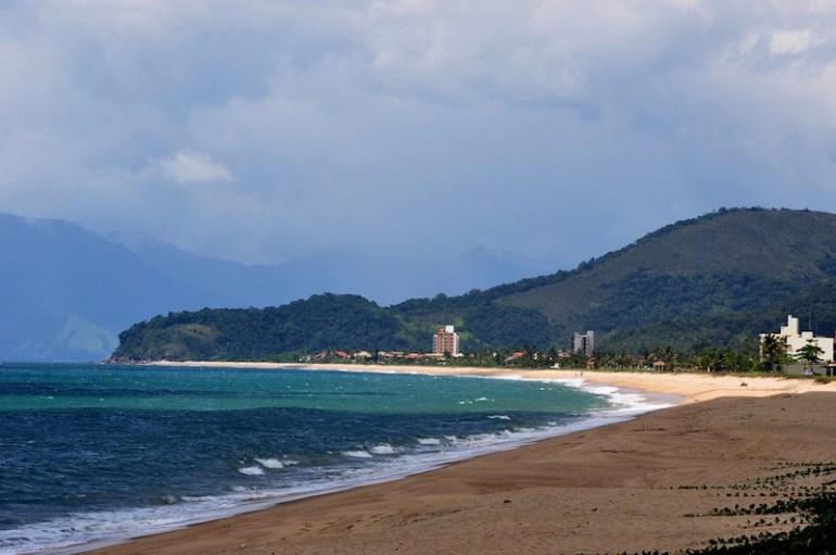 Dia de sol na Praia da Massaguaçu | Foto da Prefeitura de Caraguá