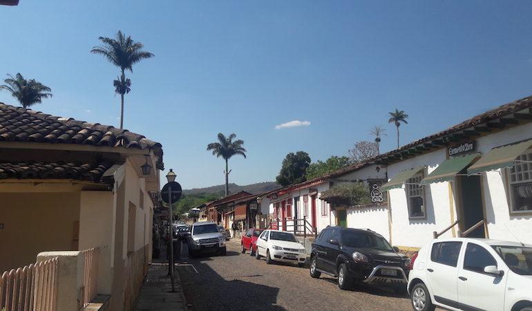 Rua dos restaurantes em Pirenópolis