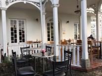 Varanda do Café Santa Clara