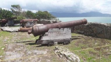 fortaleza sao jose da ponta grossa florianopolis canhao