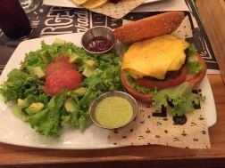 paradise burger bogota restaurante