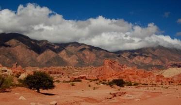 Montanhas da província de Salta