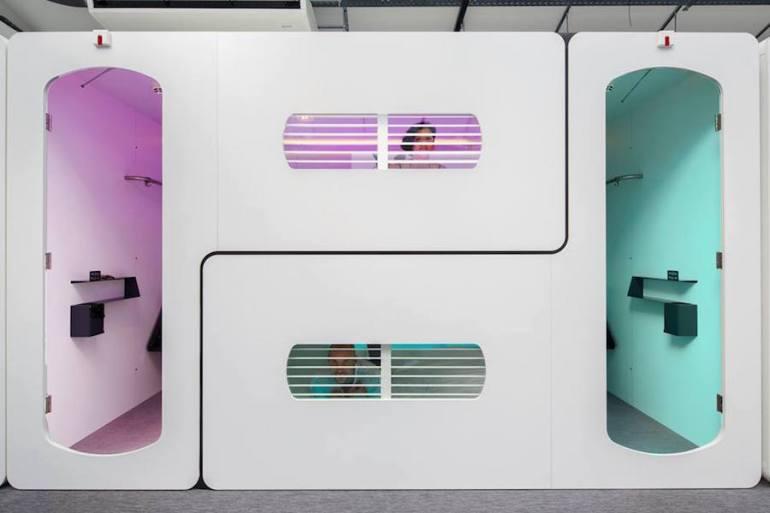 CityHub, um hostel futurista em Asmterdam