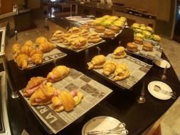 Croissants no café da manhã do Iberostar Bahia