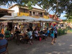 Restaurante na Alameda do Sol, perto da pousada